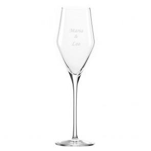 Champagnerglas mit Wunschgravur
