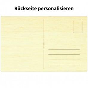 Holzpostkarte