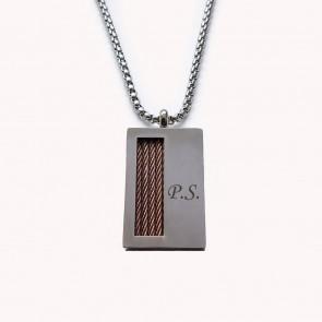 Halskette aus Edelstahl Palermo