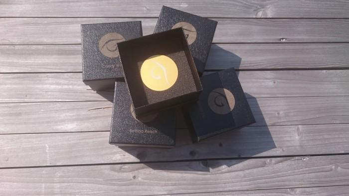 Gravierte Medaillen in Goldoptik